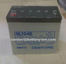 Batterie GEL 12v 60Ah  Fauteuil Roulant Handicapé a décharge lente, 1300 Cycles