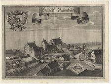 Schloß Baumburg (Neumarkt-St. Veit): Kupferstich, Wening, 1723