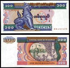 MYANMAR - 100 kyats 1994 FDS - UNC