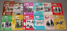 "1984 Lot of 12 Horse Racing "" Turf Magazine "" Issues"