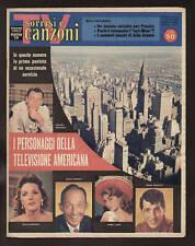 SORRISI CANZONI TV 16/1960 PAULA ALBA ARNOVA PERRY COMO ELVIS PRESLEY PAT BOONE