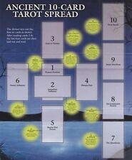 CELTIC CROSS 10 CARD TAROT LAYOUT SHEET ORACLE, Divination, Self-Help  Car ResQ