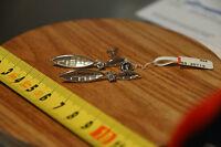 Ohrstecker Boote Bootsform Blätter Zirkonia  925er Silber vom Juwelier
