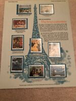 World of Stamps Series: RWANDA THE IMPRESSIONISTS ,MNH