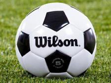 6d4753512b Wilson tradicional de Cuero Pelota De Fútbol Oficial Fifa Tamaño 5 Nuevo