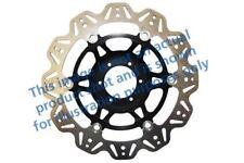 pour LAVERDA SFC 1000 03>04 EBC VR Disque de frein noir central moyeu avant