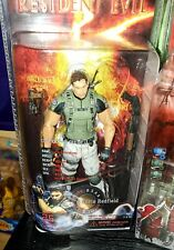 NECA Resident Evil 5 Chris Redfield Action Figure New RARE 100% authentic RE5🔥