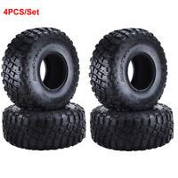 4PCS 2,2 Zoll Gummi Reifen Tires für 1:10 Axial SCX10 TRX-4 D90 D110 RC Crawler