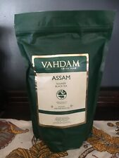Vahdam Assam summer black tea loose leaves 16oz Bag pure indian tea