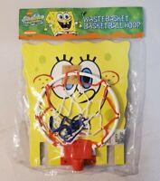 SpongeBob SquarePants Waste Basket Basketball Hoop VTG 2003 NOS - EXTREMELY RARE
