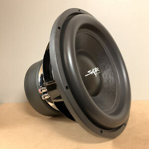 "USED SKAR AUDIO VXF-15 D2 15"" 3000W MAX POWER DUAL 2 OHM COMPETITION SUBWOOFER"