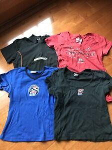 Lot of 4 Indy Car Champ Car CART Shirts Tops Juniors L XL