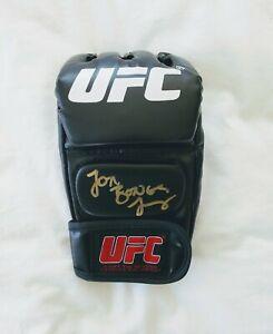 """Jon """"Bones"""" Jones Signed UFC Glove MMA *PROOF Dana White ESPN GOAT ESPN Adesanya"""
