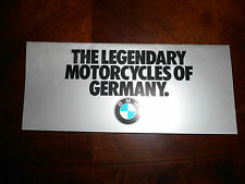 NOS BMW OEM 1983 Motorcycle of Germany Brochure R100 R80 R65 RT RS ST 10 pgs