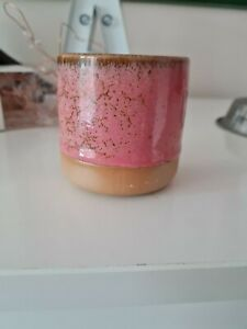 Ceramics Handmade  Stoneware Ceramic candle Shine Spice wax
