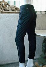 PRADA SPORT Zipper Leg Pants ~ BLACK ~ 40 (US-4)