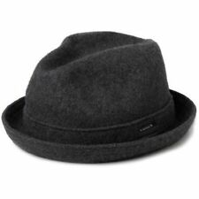 Kangol Dark Flannel Wool Player Trilby Hat Style 6447BC XL f913df3ed53c