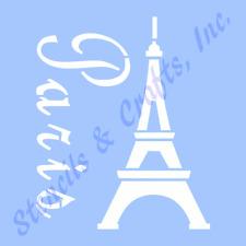 "4"" Eiffel Tower Stencil Paris Reusable Template Craft Stencils Templates New"