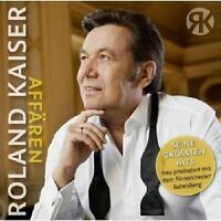 ROLAND KAISER - AFFÄREN  CD ++++++++++16 TRACKS+++++++++++++++NEU