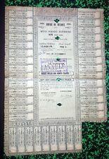 Mexico/Mexique - Très Rare Empire du Mexique 1864 Emprunt 500 £ - 12 600 F Or