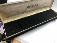 New Old Stock Vintage Longines Empty Wrist Watch Box With Outer Box