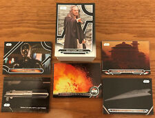 2017 Topps Star Wars Galactic Files Reborn Complete Master Set 264 Cards Inserts