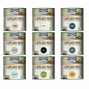 Johnstone's Revive Cupboard Paint 750ml transform Melamine & MDF Kitchen Cabinet