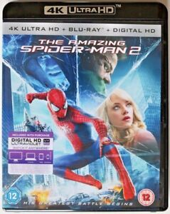 Blu Ray 4K Ultra HD - The Amazing Spider-Man 2 - Preowned