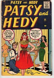 PATSY AND HEDY #66 1959 GGA MARVEL EARLY SILVER AGE!