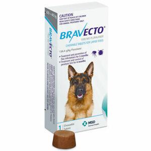 Bravecto Large Dog Blue 20-40Kg 1 Pack
