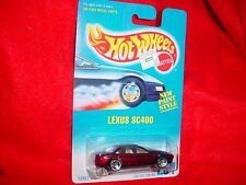 HOT WHEELS #264 LEXUS SC400 WITH 3 SPOKE RIMS FREE USA SHIPPING