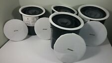 "New listing Bose Model 32 Flush Mount Ceiling Speaker 6"" Lot of 4 Good Working Condition"