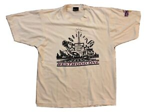 FOREIGNER Tour WESTWOOD ONE Radio Vintage 1985 Rock T-Shirt USA - Women's Large