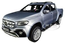 2017 MERCEDES BENZ X-CLASS PICKUP TRUCK SILVER 1/18 DIECAST CAR BY NOREV 183420