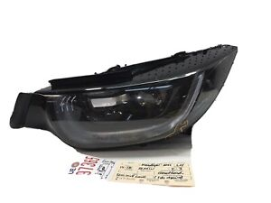 2014 2015 2016 2017 2018 BMW I3 I-3 LEFT SIDE LED HEADLIGHT OEM LENS CRACK