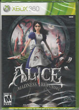 Alice Madness Returns Xbox 360 Xbox One compatible Brand New factory sealed