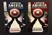 CAPTAIN AMERICA: WIELD THE SHIELD Comic Books Lot of 2 WILL & WON'T Deadpool