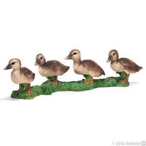 NEW SCHLEICH 13655 Ducklings Model 8cm - Duck Duckling - RETIRED