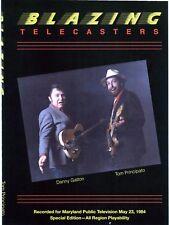 TOM PRINCIPATO AND DANNY GATTON - BLAZING TELECASTERS NEW DVD