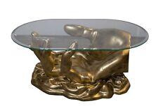 Ovale couchtische g nstig kaufen ebay - Ovaler glastisch ...