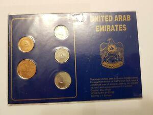 5 Fils - 1 Dirham Excellent Condition Coins United Arab Emirates