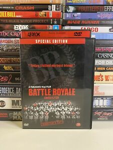 BATTLE ROYALE (2000) DVD CULT CLASSIC ACTION GORE NTSC BIG CASE DIRECTORS CUT