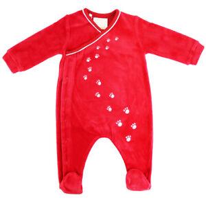 Emile Et Rose Boys Babygrow - Red (BNWT) ER1725-RE