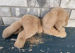 "Gund Golden Retriever Plush Dog Muttsy Vintage 1985 Floppy Puppy 16"" Tan P5"