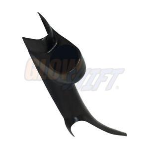 GlowShift 52mm Black Single Gauge Pillar Pod for 2000-2006 GMC Sierra Duramax