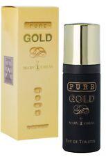 MILTON LLOYD PURE GOLD EAU DE TOILETTE MEN PERFUME SPRAY 50ml gift