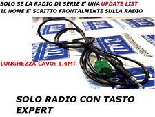 Cavo Aux MP3 iPod RENAULT con Update List TWINGO CLIO MODUS MEGANE SCENIC 1,4MT