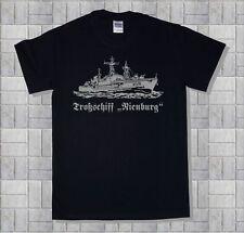 Marine-Shirt, Versorger A1416,Troßschiff Nienburg, 100% Baumwolle, schwarz,