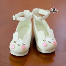 1/6 BJD Shoes Yosd Dollfie DREAM White rabbit Shoes DOD SOOM MID Luts AOD DZ AF
