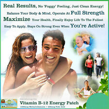 New 5Packs Health Vitamin Stickers Vitamin B12 Energy Patch Better Living Supply